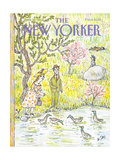 The New Yorker Cover - June 10, 1985