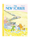 The New Yorker Cover - September 21, 1992