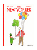 The New Yorker Cover - March 16, 1992