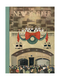 The New Yorker Cover - December 11, 1954