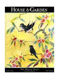 House & Garden Cover - October 1924