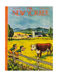 The New Yorker Cover - July 25, 1953