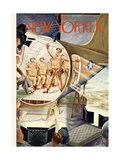 The New Yorker Cover - January 8, 1944
