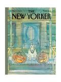 New Yorker Cover - November 04, 1985