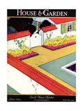 House & Garden Cover - July 1924