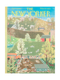The New Yorker Cover - April 29, 1961