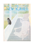 The New Yorker Cover - July 18, 1977