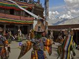 The Black Hat Dance at the Karsha Gustor Festival