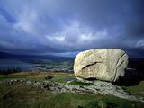 Cloughmore Stone in Rostrevor, County Down