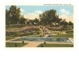 Rock Garden, Antelope Park, Lincoln, Nebraska