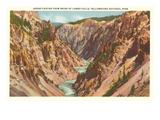 Grand Canyon, Yellowstone Park, Montana