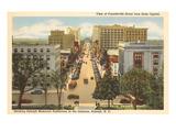 Downtown Raleigh, North Carolina