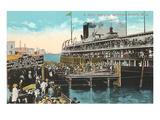 Ferry to Mackinac, Detroit, Michigan
