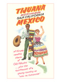 Baja California Travel Poster