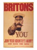 World War I: Poster, 1914