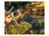 Degas: Four Dancers, C1899