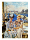 Manet: Boaters, 1874