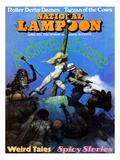 National Lampoon, April 1971 - Adventure: Weird Tales and Spicy Stories