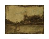 Gilded Landscape II