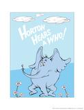 Horton Hears a Who (on blue)