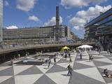 Stadsteaterr Square, City Centre, Stockholm, Sweden, Scandinavia, Europe