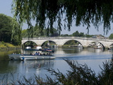 The Bridge Over the Thames at Richmond, Surrey, England, Uk