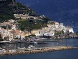 View of Amalfi, Amalfi Coast, Campania, Italy, Europe