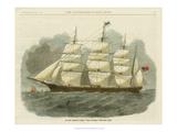 Antique Clipper Ship IV