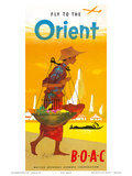 BOAC, Fly to the Orient c.1950?s