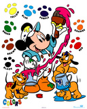 Mickey Mouse Painting Colors