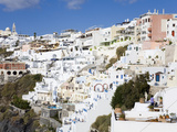 Town of Fira, Santorini Island, Cyclades, Greek Islands, Greece, Europe