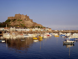 Mont Orgeuil Castle, Gorey, Jersey, Channel Islands, United Kingdom, Europe
