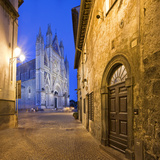 Italy, Umbria, Terni District, Orvieto, Cathedral in Piazza Duomo