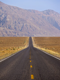 USA, California, Death Valley National Park, Badwater Road Landscape