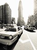 USA, New York City, Manhattan, Fifth Avenue and Broadway, Flatiron Building
