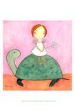 Fairy on Turtle