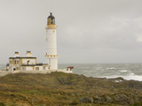 The Lighthouse on Corsewall Point on the Rhins of Galloway, Scotland, UK
