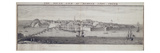 The South View of Berwick Upon Tweed, C.1743-45 (Pen and Ink and Wash on Paper)