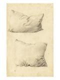 Studies of Pillows (Pencil)