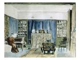 Interior of Kelmscott Manor (W/C on Paper)