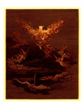 The Vision of the Sixth Heaven, Illustration from 'The Dore Gallery'