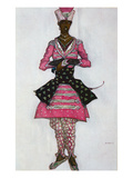 Costume Design for the Indian Bridegroom, from Sleeping Beauty, 1921 (Colour Litho)