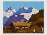 Farm in Tyrolian Mountains