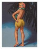 Hula Pin Up Marylin Monroe c.1951
