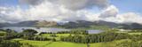 Hill and Lake, Derwent Water, Keswick, English Lake District, Cumbria, England
