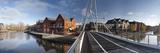 Bridge across a River, Lady Julian Bridge, Norwich, Norfolk, England