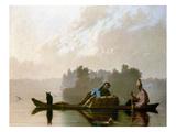 Bingham: Fur Traders, 1845
