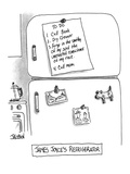 James Joyce's Refrigerator' - New Yorker Cartoon