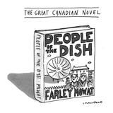 The Great Canadian Novel - New Yorker Cartoon