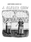 The Love Song Of J. Alfred Crew - New Yorker Cartoon